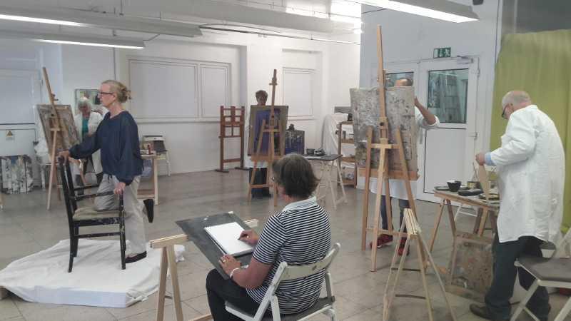 Kunstakademie für Spätberufene